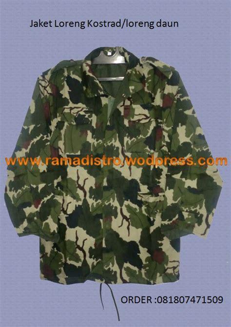 jaket loreng daun kostrad tni kualitas bagus harga murah jual aneka barang perlengkapan