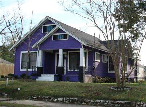 purple house exterior tallahassee purple
