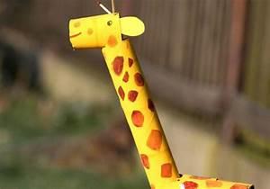 Bastelvorlagen Tiere Zum Ausdrucken : basteln mit kindern kostenlose bastelvorlage tiere giraffe aus tonpapier ~ Frokenaadalensverden.com Haus und Dekorationen