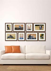 Large Living Room Wall Gallery - Jenn Di Spirito Photography