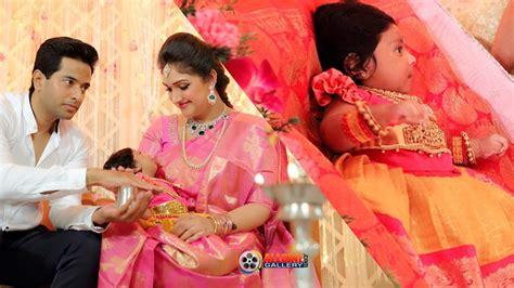 sridevi vijayakumar baby daughter rupikaa  naming