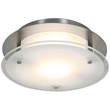 access vision   wide brushed steel ceiling light