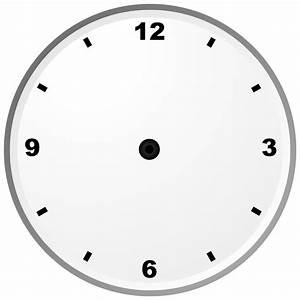 File Analogue Clock Face Svg
