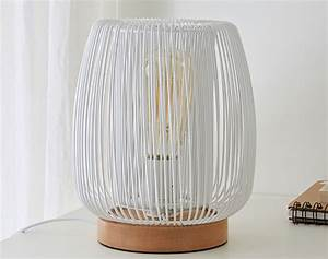 Lampe Bois Design : lampe design bois et m tal becquet ~ Teatrodelosmanantiales.com Idées de Décoration