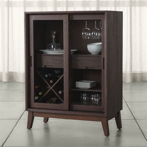 kitchen islands and carts furniture steppe wine bar cabinet crate and barrel