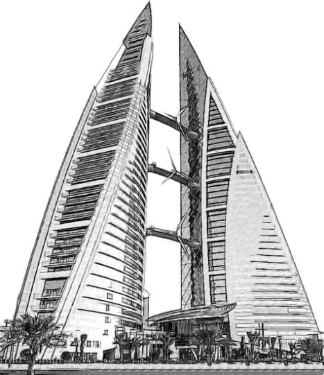 Bahrain World Trade Center - fondo de pantalla