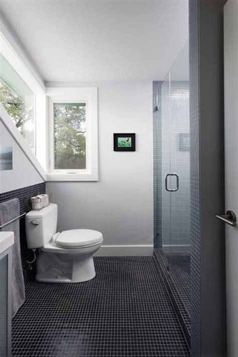 grey mosaic bathroom floor tiles ideas  pictures
