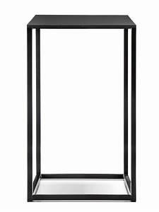 Beistelltisch Höhe 60 Cm : code designer beistelltisch pedrali aus metall mit laminatplatte in weiss oder schwarz in ~ Bigdaddyawards.com Haus und Dekorationen