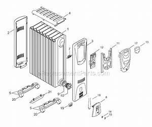 Delonghi Hm25e Parts List And Diagram   Ereplacementparts Com