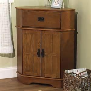 accent corner cabinet drawer wood storage furniture living