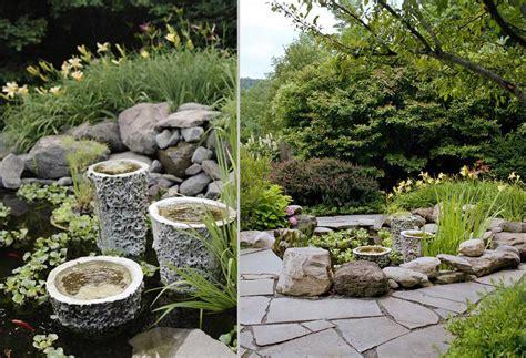 garden designs with stones coy pond design in bearsville ny gayle burbank landscapesgayle burbank landscapes