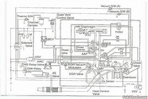 Vacuum Diagram Toyota 2e Engine