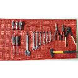 support mural pour outils panneau mural perfor 233 porte outils garage atelier achat