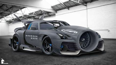 New Type Of Jet Intake For A Mercedes-benz Sls Amg? We All