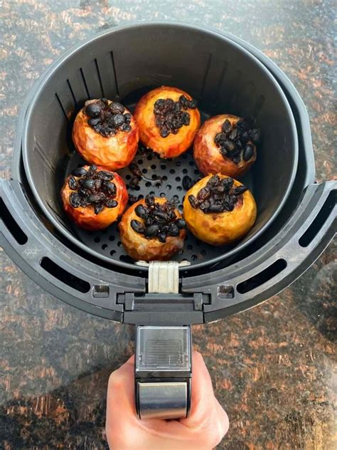 fryer air baked apples apple recipes recipe melaniecooks desserts making