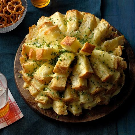 party cheese bread recipe taste  home