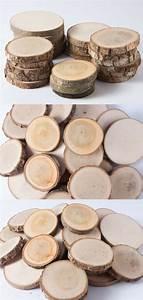 Décoration De Noel à Fabriquer En Bois : des petites rondelles de bois pour fabriquer sa d coration ~ Voncanada.com Idées de Décoration