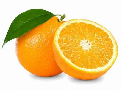 Orange Transparent Slice Background