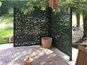 Brise Vue Panneau Rigide : brise vue panneau en aluminium gamme nature groupe gmh ~ Melissatoandfro.com Idées de Décoration