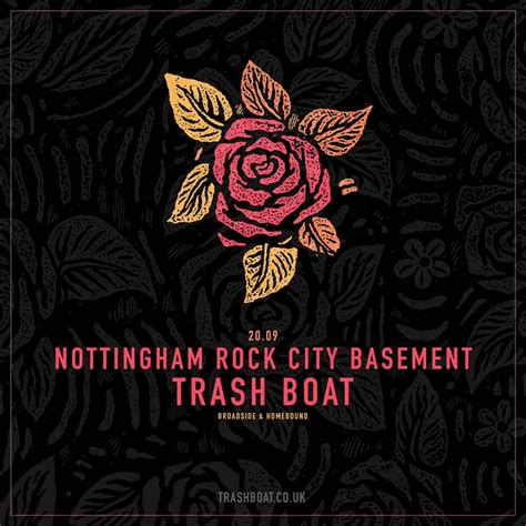 Trash Boat Nottingham by Rock City The Lads In Trash Boat Will Be Here Soon