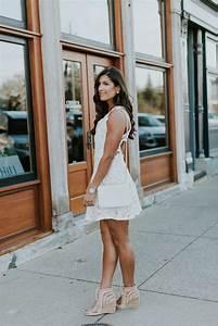 White Lace Dress A Southern Drawl