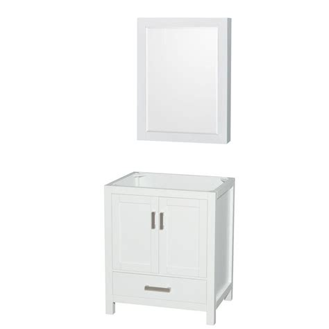 wyndham collection medicine cabinet wyndham collection sheffield 30 in vanity cabinet with