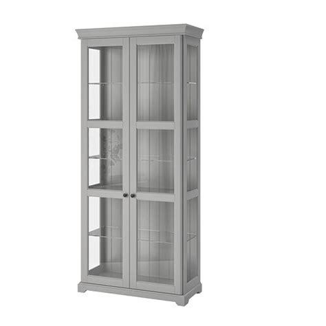 ikea liatorp vitrine liatorp vitrine gris 96x214 cm ikea