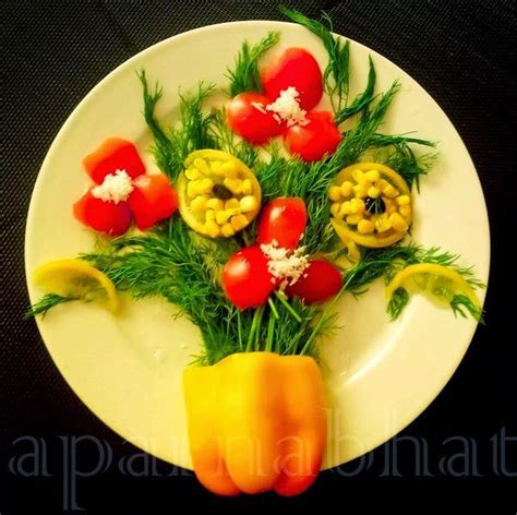 Salad Decoration Ideas Images - 50 best salad decoration images on food