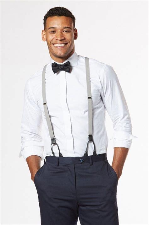 anzug mit hosenträger 1001 ideen thema grauer anzug welches hemd passt dazu