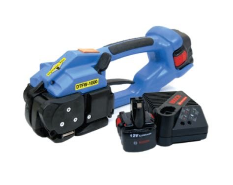 dtfw  battery powered band strapping tool strapping banding machines products dynaric