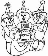 Coloring Birthday Happy Printable Dibujos Cumpleanos Colorare Colorear Mom Hats Fiestas Festa Geburtstag Gute Alles Zum Colouring Cappelli Feliz Infantiles sketch template