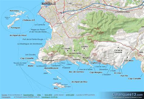 Carte Sud Cassis by Cartograf Fr Carte De Marseille