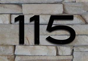 blair font house numbers or letters 2 to 8 inches set With large house numbers and letters