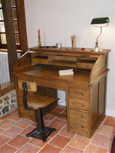 bureau style ancien rénovation d 39 un bureau à cylindre 1920 de famille