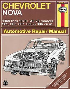 Haynes 24059 Service Repair Manual Chevrolet Nova 1969