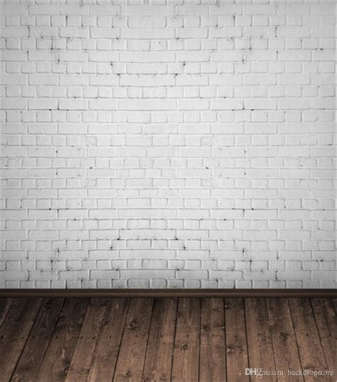 white brick wall photography backdrop vinyl baby