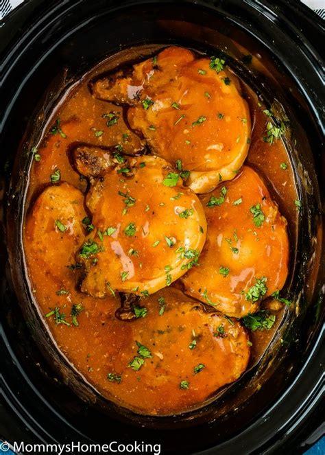 slow cooker beer pork chops recipe slow cooker pork