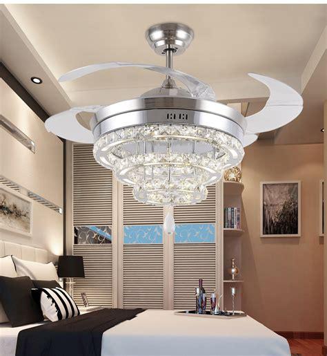 living room fans with lights led crystal chandelier fan lights chandelier fan crystal