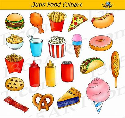 Junk Clipart Fast Unhealthy Junkfood Graphics Clip
