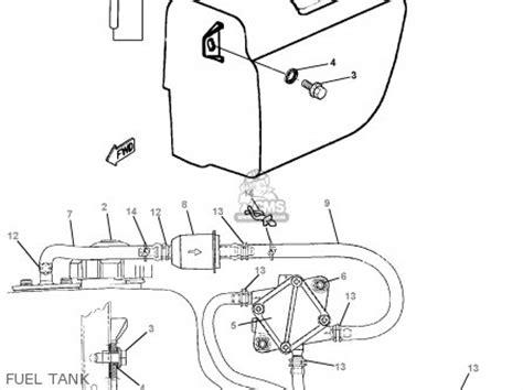 Golf Cart Fuel Diagram by Yamaha G16 Ap Ar 1996 1997 Parts List Partsmanual Partsfiche
