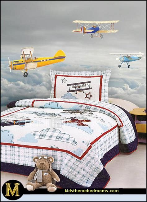 decorating theme bedrooms maries manor airplanes