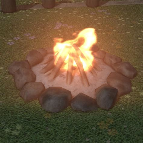 Campfire Ffxiv Housing  Outdoor Furnishing