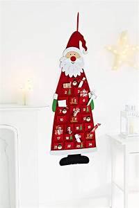 Weihnachtskalender Zum Befüllen : affiliatelink heitmann deco adventskalender kinder filz santa zum bef llen und aufh ngen mit ~ A.2002-acura-tl-radio.info Haus und Dekorationen