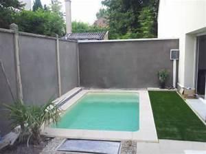 Mini piscine béton liner la petite piscine selon Aquarev'Piscines dans le 04 et le 83