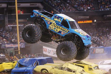 how long is monster truck jam monster jam drives through mohegan sun arena in wilkes