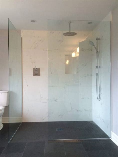 custom mm clear tempered glass shower enclosure