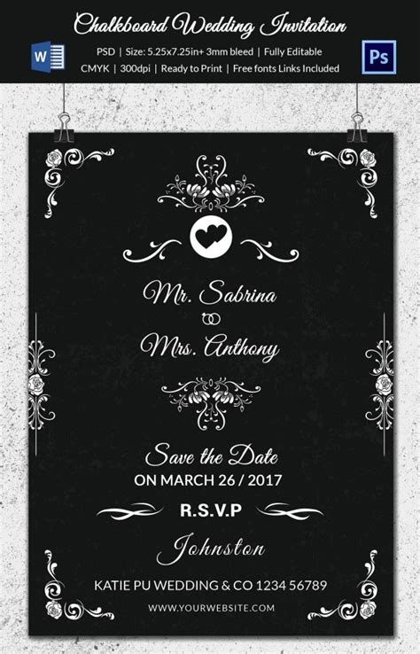 Wedding Program Template 41+ Free WordPSD