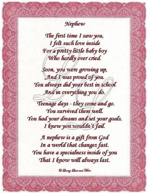 nephew poem
