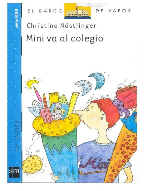 Barco De Vapor Libros Pdf by 1 2 El Barco De Vapor Mini Va Al Colegio Christine