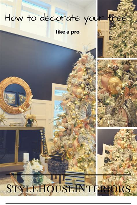 How To Decorate Your Christmas Tree Like A Pro! Style